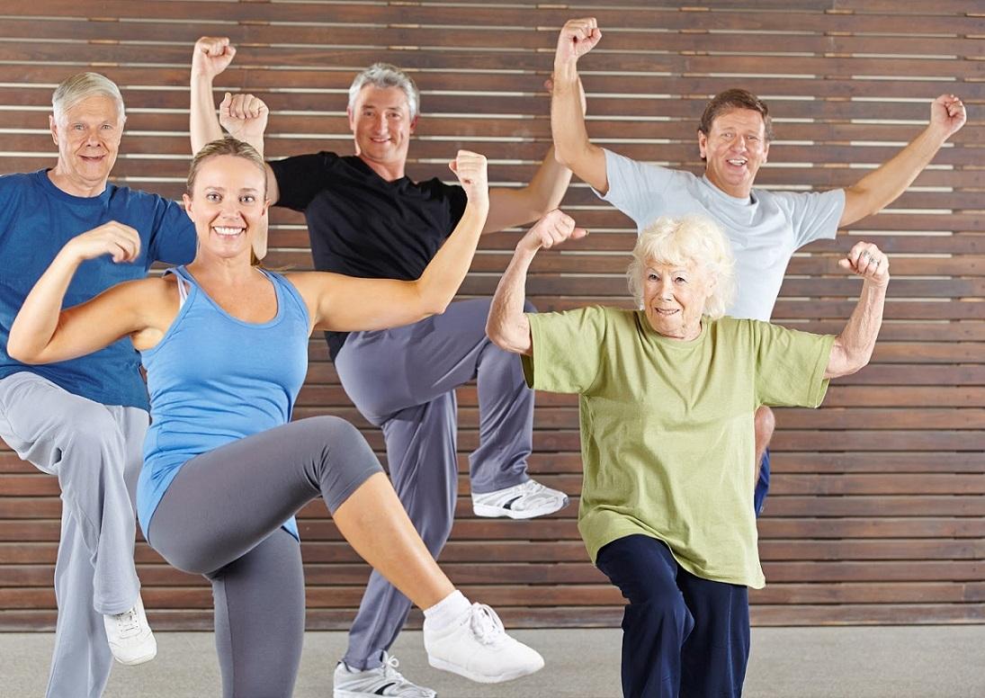 Зумба для пожилых людей