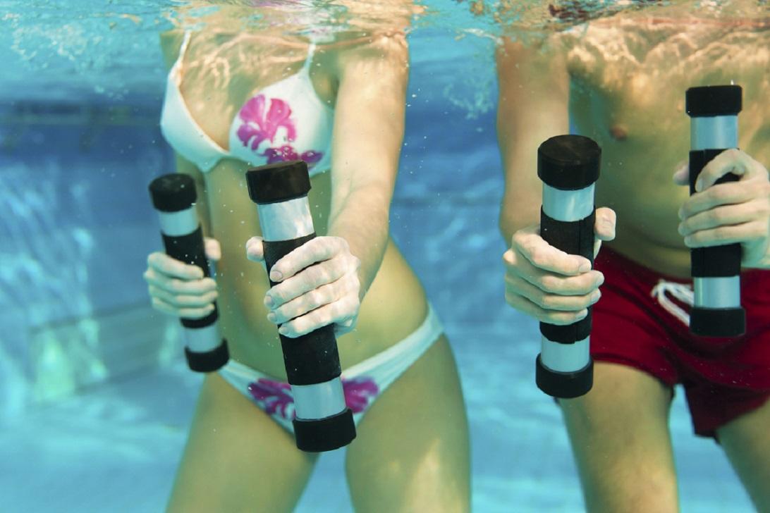 Силовая тренировка в воде