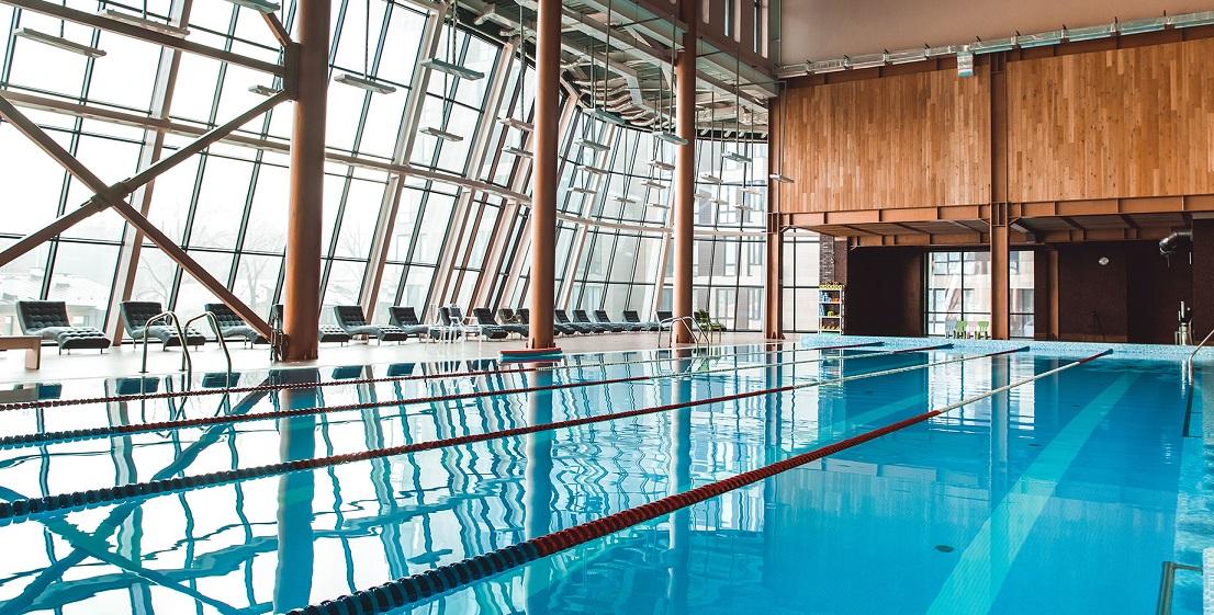 Спортзал с бассейном в Москве