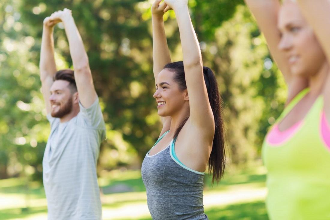 Фитнес на открытом воздухе в Москве