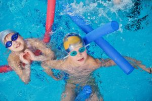 Занятия в бассейне с детьми в Химках