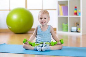 Фитнес для детей 3 лет