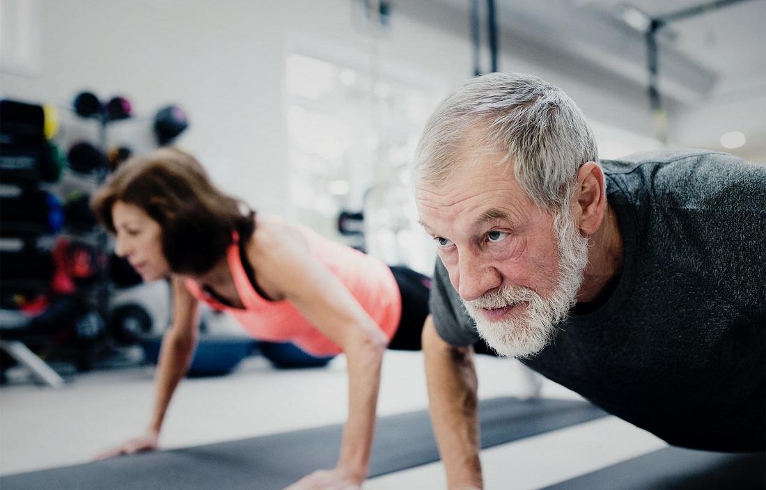 Фитнес для пожилых в Москве