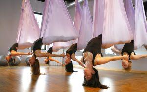 Флай йога в Химках