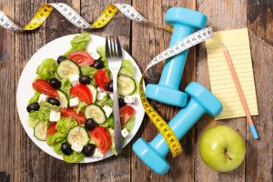 Режим питания при занятиях фитнесом