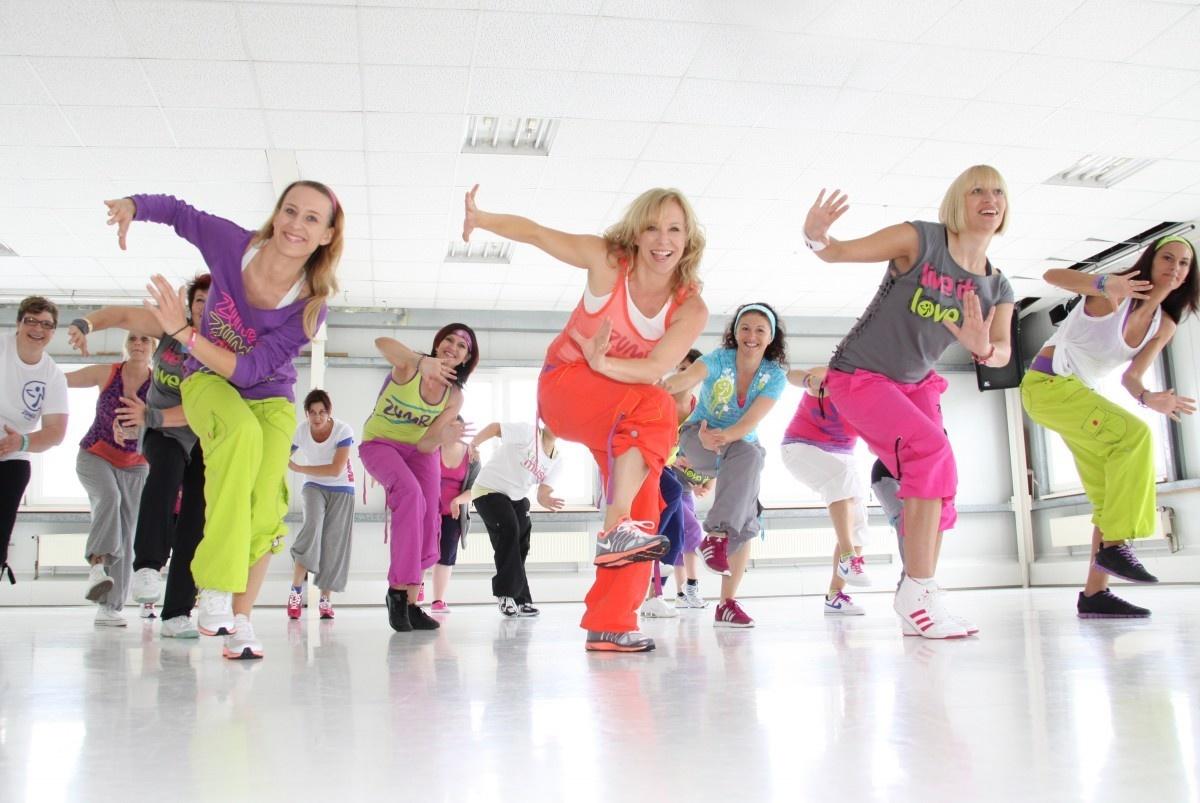 зумба в фитнес клубах москвы