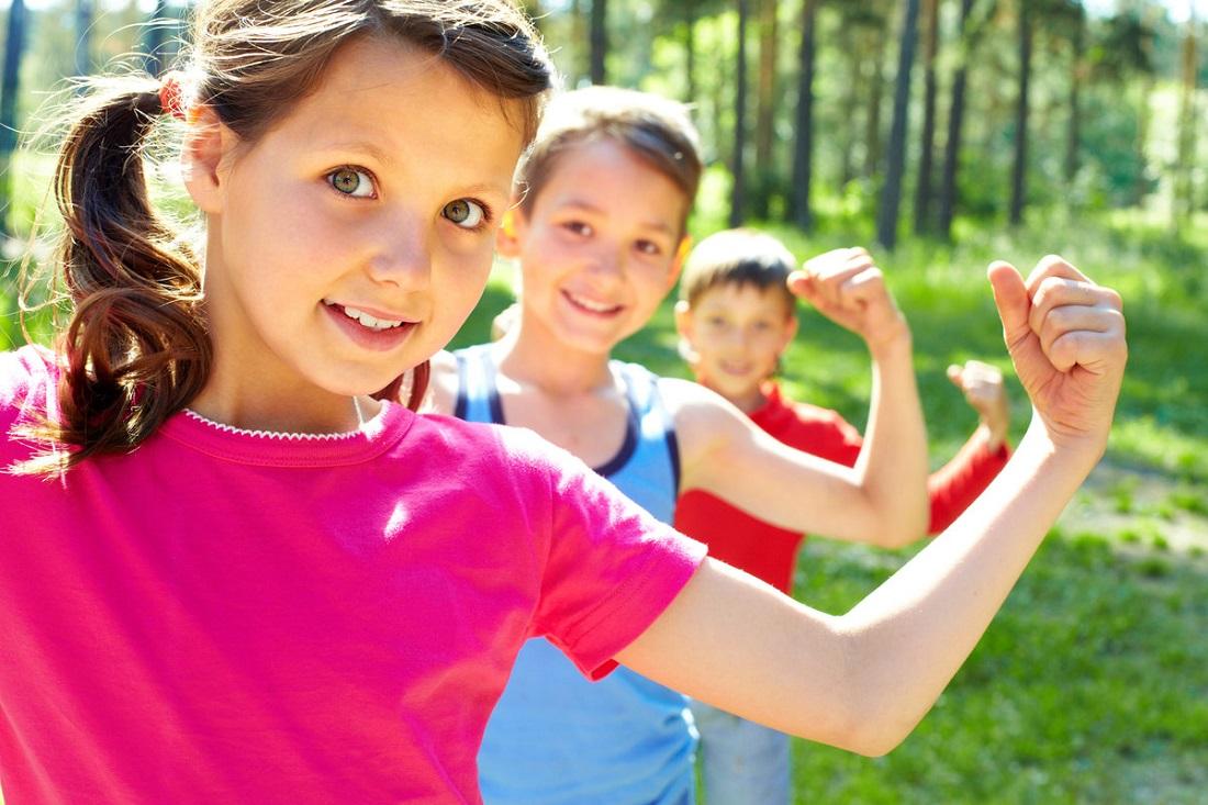Детский фитнес лагерь