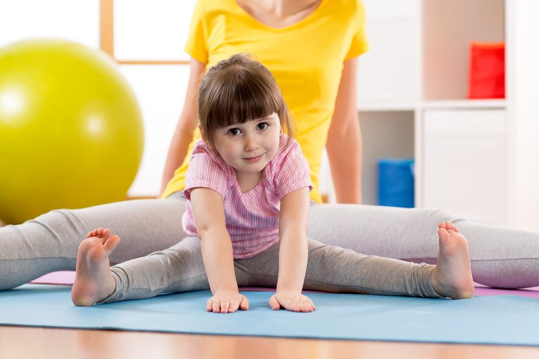 Фитнес для малышей от 2 лет