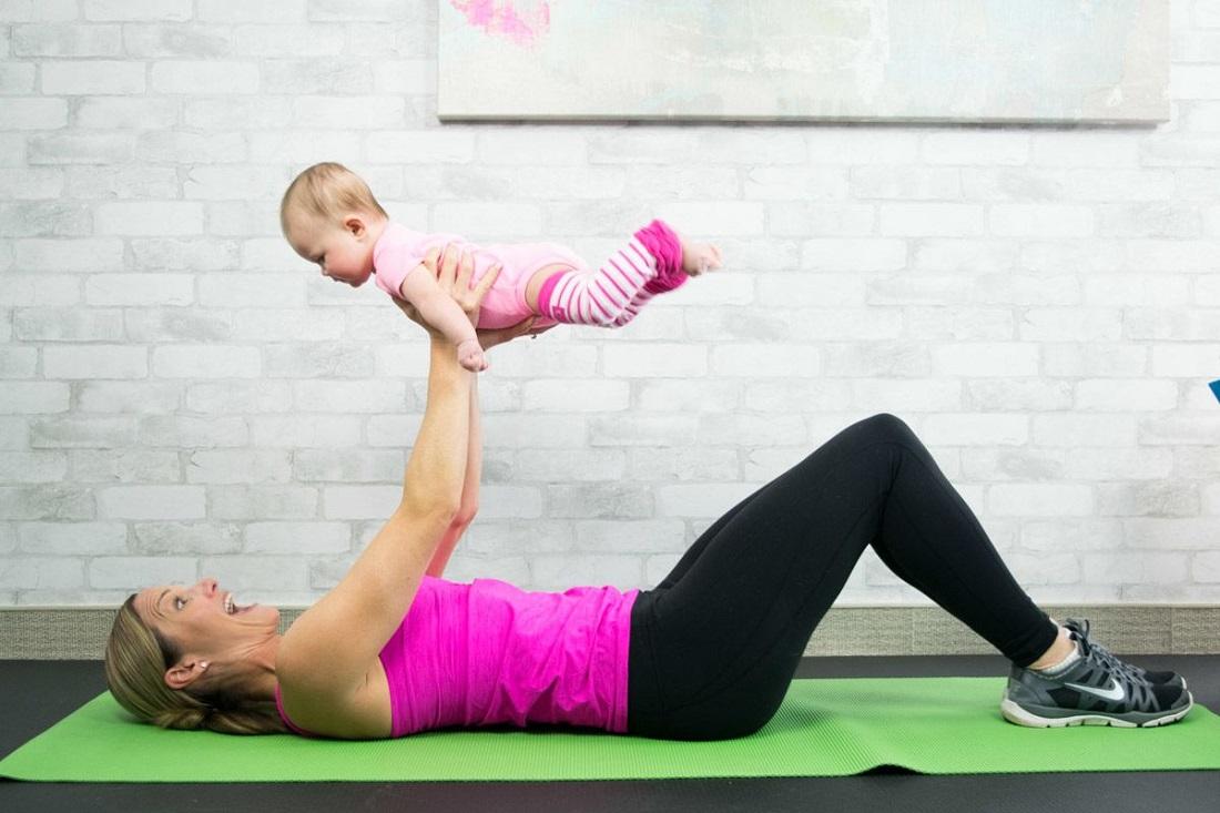Беби фитнес для малышей