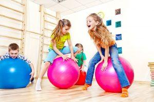 Тренировки с мячом для детей