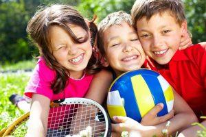 Летние занятия спортом для детей